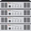 四通道纯后级功率放大器 背景音乐广播系统专用